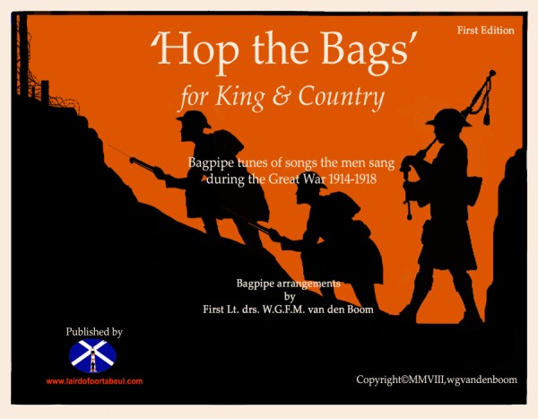 Bagpipe music sheet Hop the Bags